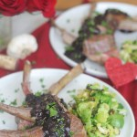 Lamb Chops with Chocolate Red Wine Sauce | StrictlyDelicious.com