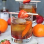 Roasted Strawberry Old Fashioned | StrictlyDelicious.com