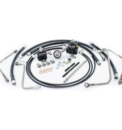driven diesel 6 0l fuel bowl delete regulated return fuel system kit [ 1000 x 1000 Pixel ]