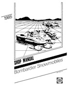 1985 SkiDoo snowmobile Service Manual