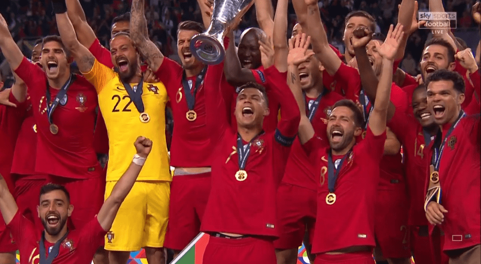 Portugal Claim Uefa Nations League Trophy Strictly Sports 247