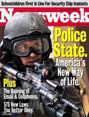 Newsweek Police State