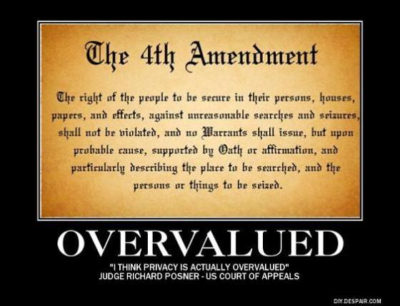 Fourth Amendment poster