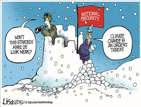 Global warming National Security