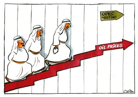 OPEC rising oil prices