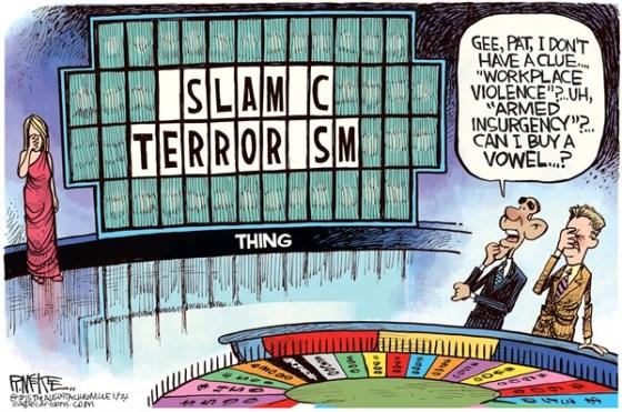 Wheel of Fortune Islamic Terrorism