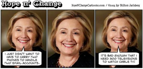 Hilarity Clinton email excuse