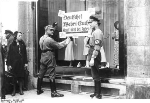 Nazi boycott_of Jewish_stores
