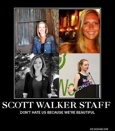 Scott Walker staff poster