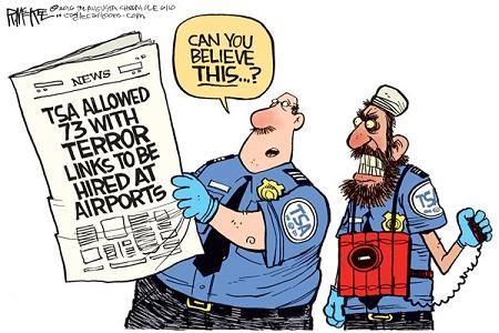 TSA fails background checks