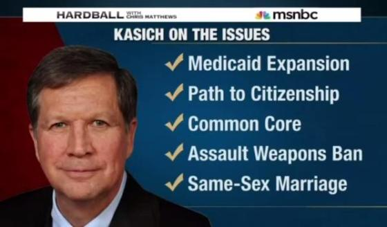 Image result for john kasich on msnbc today