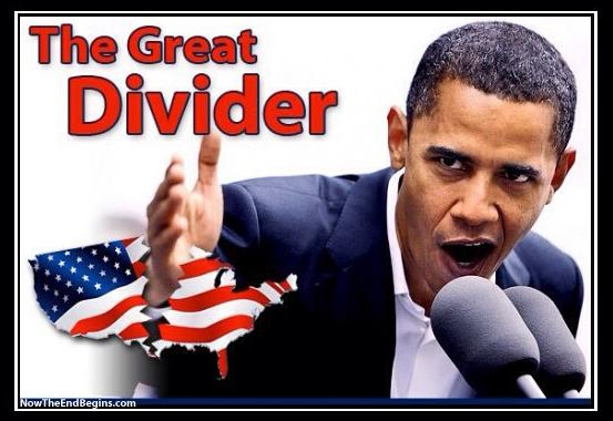 Obama - The Great Divider