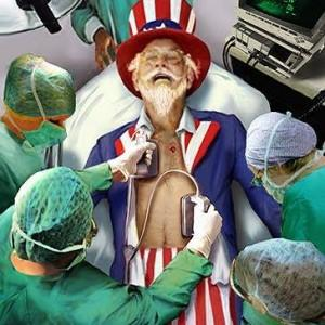Uncle Sam dying
