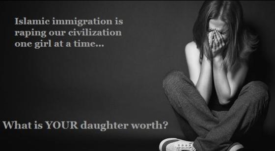 Islam raping civilization