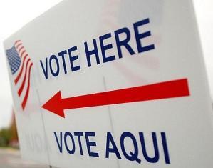Vote Here in Spanish