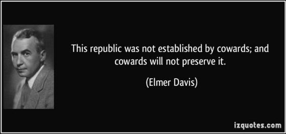 Elmer Davis - Cowards
