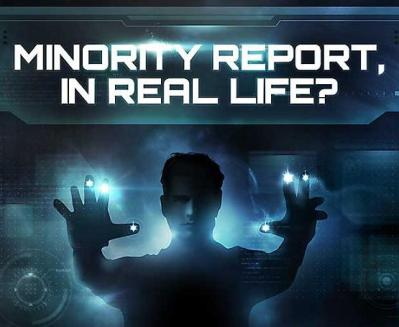 Minority Report real life