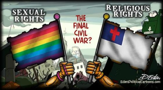 Sexual rights vs religious rights