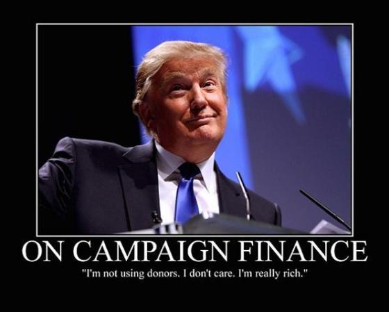 Trump - Campaign Finance