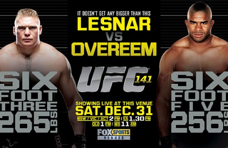 Watch UFC 141 Live