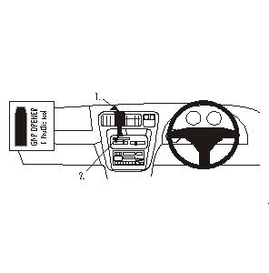 ClicOn No Holes Dash Mount for Toyota HiLux Surf/4Runner 96-99