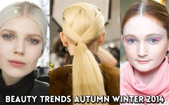 Beauty Trends Autumn Winter 2014