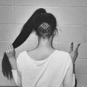 hair tattoo inspiration - secret