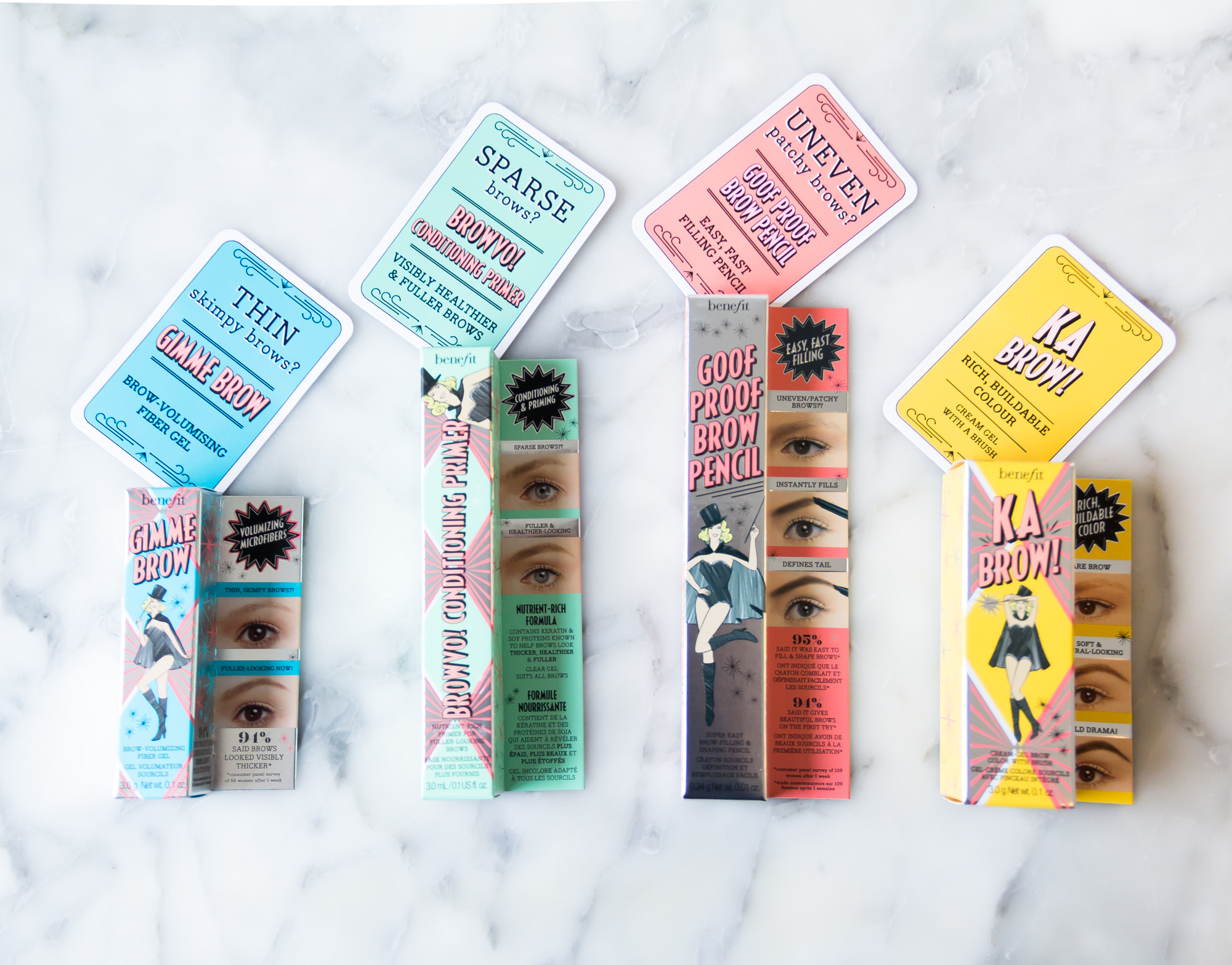 new benefit brow collection