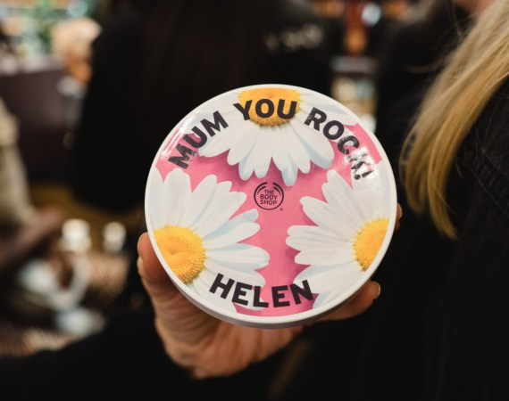 body shop mothers day blogger event