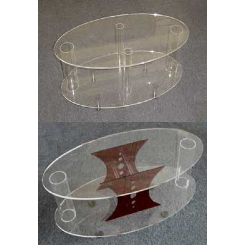 acrylic oval coffee tables home