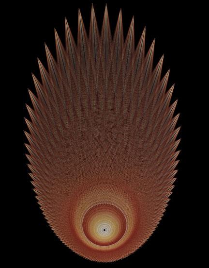 Flame Mandala  StringArtcom