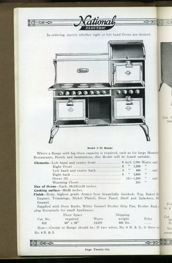 Great Western Stove Company Catalog