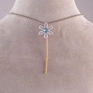 Phillip Phillips Guitar String Flower Pendant