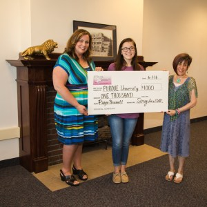 $1000 StringsforaCURE Educational Scholarship Winner Paige Brumett