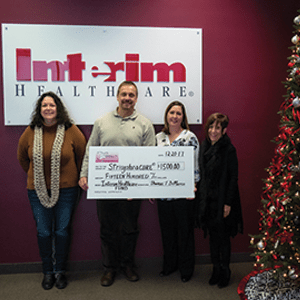 Interim Healthcare supports StringsforaCURE