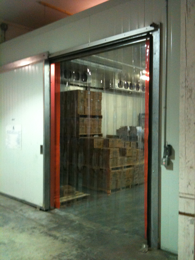 Strip Curtains For Walk In Freezers