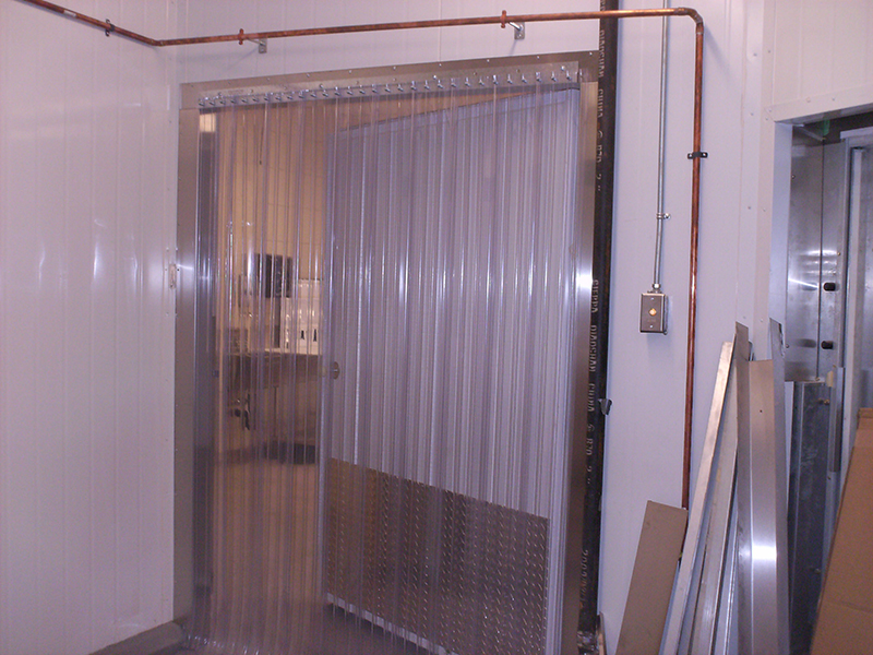 Cooler and Freezer Strip Doors  StripCurtainscom