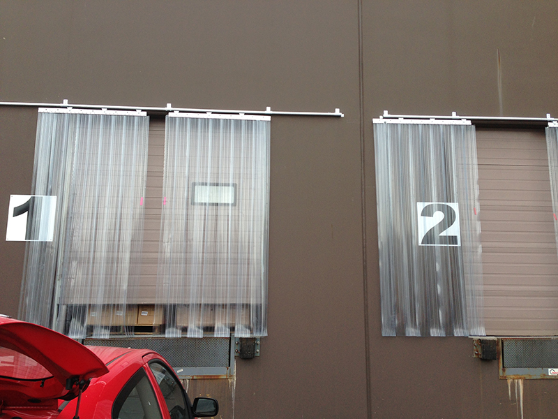 Sliding Strip Door Kits  StripCurtainscom