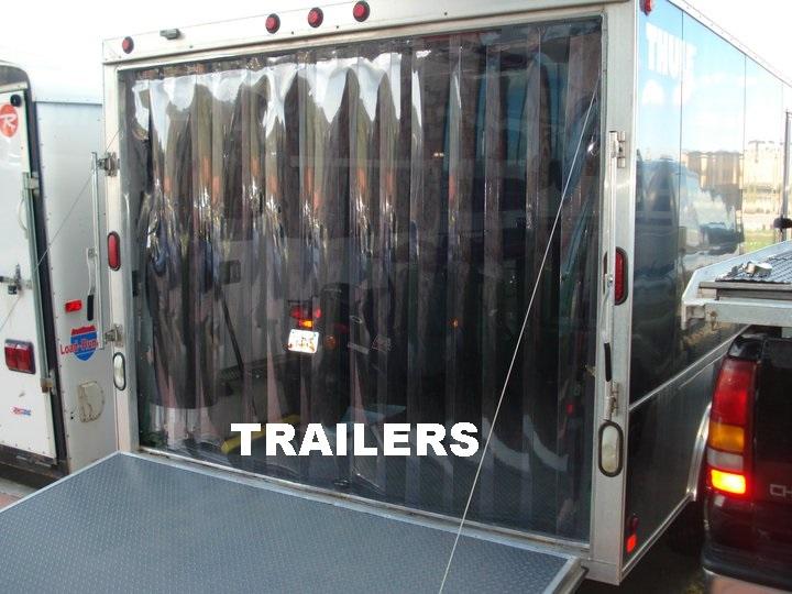 Truck and Trailer Strip Doors  StripCurtainscom