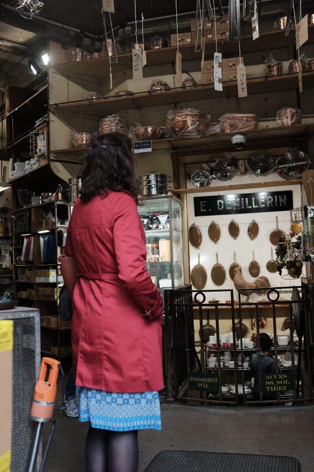 Julia Child's supply store in Paris