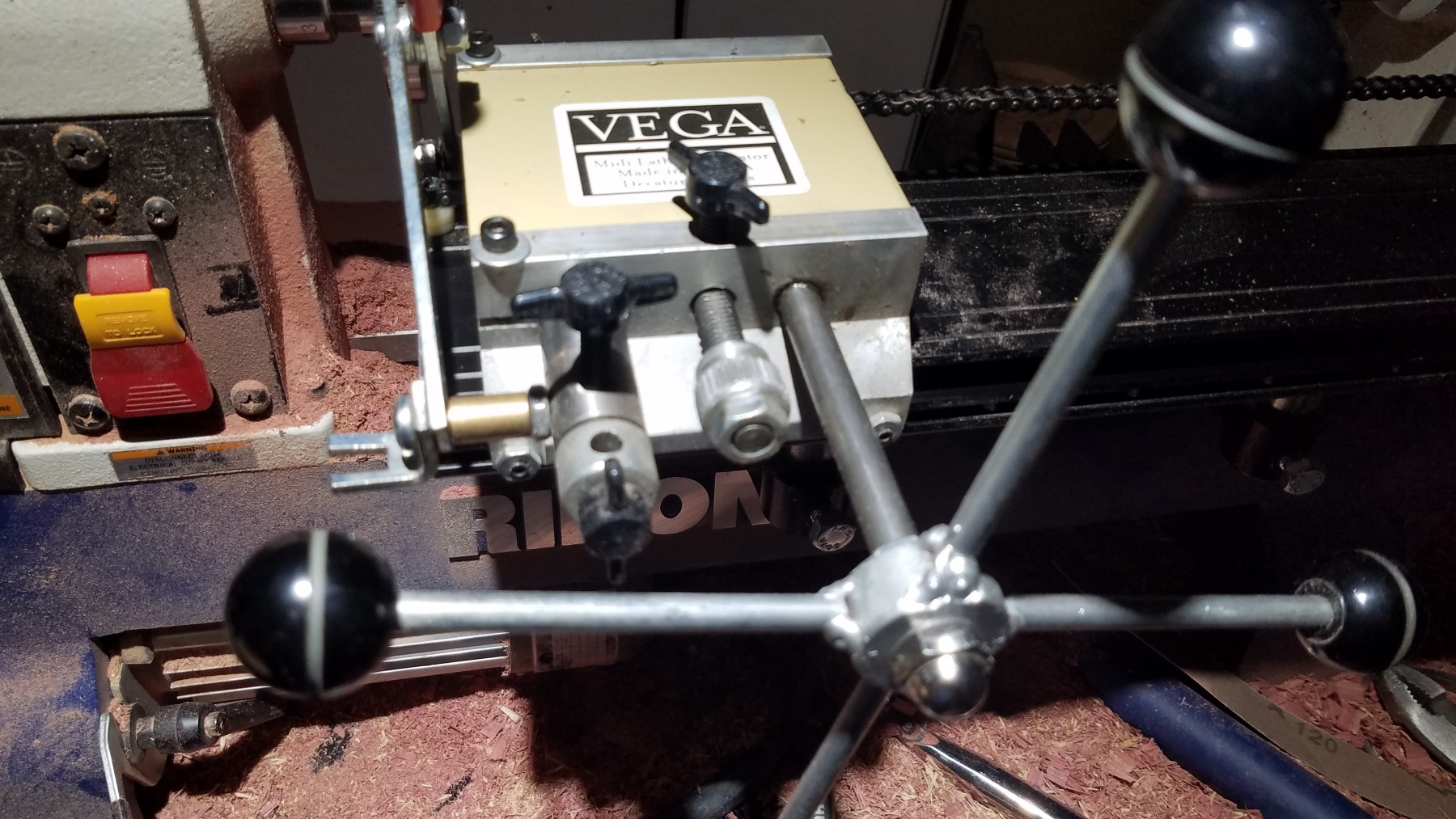 Vega Midi Lathe Duplicator Manual