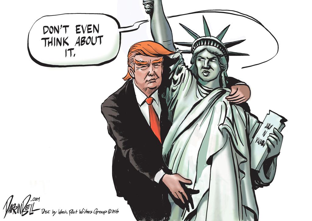 Image of: Clipart 1111trump1 Youtube De Overwinning Van Donald Trump In Cartoons Stripjournaal