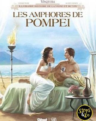 Vinifera de amphoren van pompei