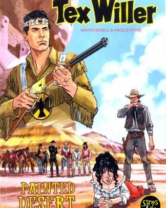 Tex Willer - Kleur 4 - Painted desert