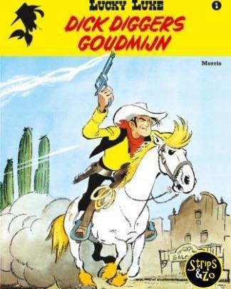 Lucky Luke - Relook 1 - Dick Diggers goudmijn