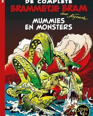 Brammetje Bram - integraal 2 - Mummies en monsters