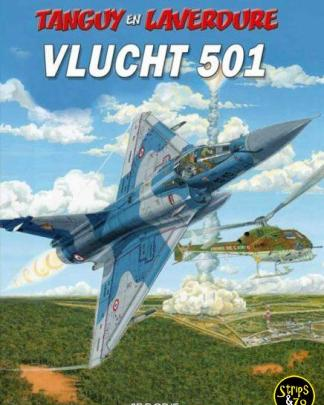 Tanguy en Laverdure 28- Vlucht 501