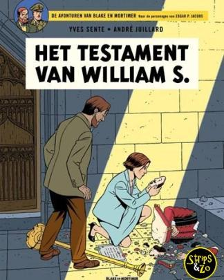 Blake en Mortimer 24 - Het testament van William S.