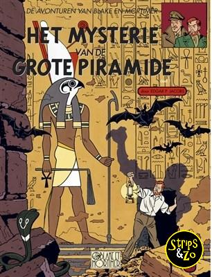 Blake en Mortimer 4 - Het mysterie van de grote piramide 1
