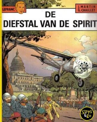 Lefranc 13 - De diefstal van de spirit